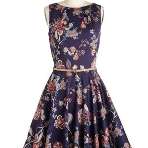 Modcloth Luck be a lady dress boho size 8 (XS)